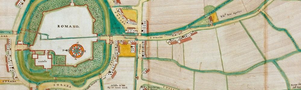 1799. Pianta del comune di Romano